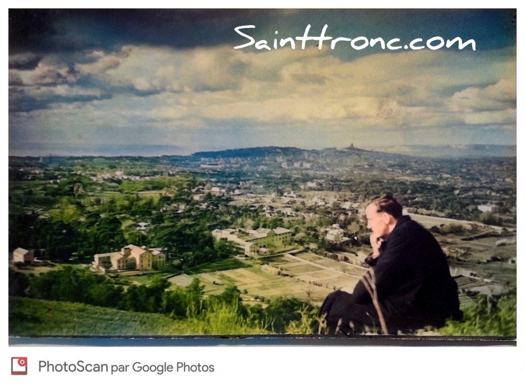 Photos anciennes de Saint Tronc