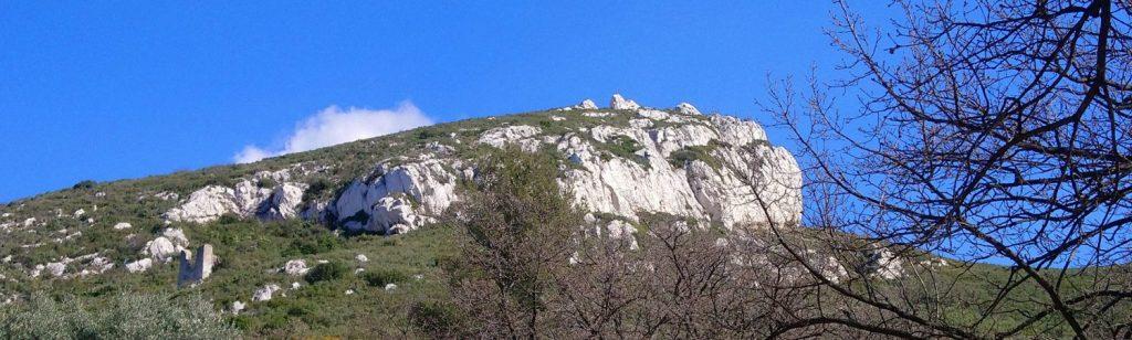 Les restanques du château des Roches  (Castelroc haut )