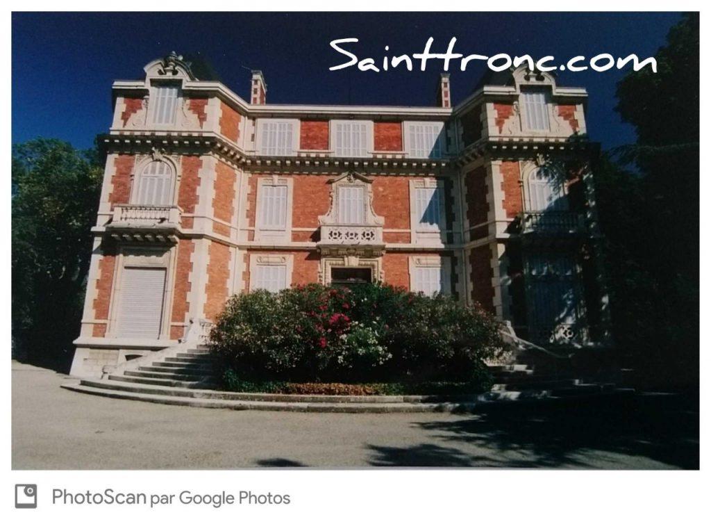Saint Tronc – Les belles demeures du XIX ème siècle – La Sauvagère