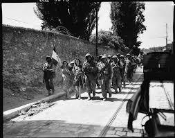Tunnel – abri des Trois Ponts –  24 Août 1944 – La reddition